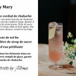 Recette Mocktail Safely Mary Site Web