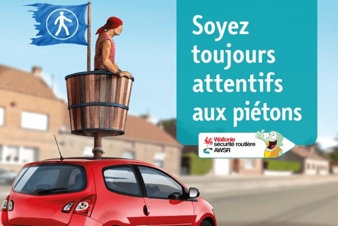 Campagne Pieton 2017